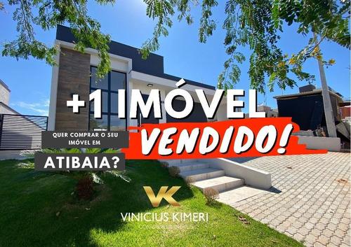 Casa Pronta Para Morar No Condomínio Terras De Atibaia I - Atibaia/sp - Ca0284