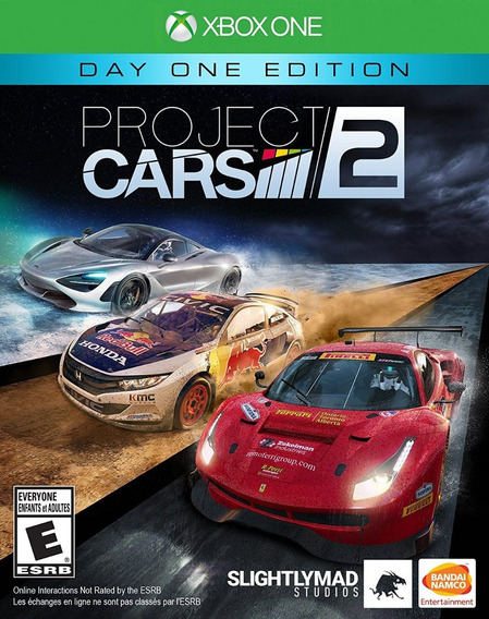 Project Cars 2 - Xbox One - Midia Fisica! Pronta Entrega!