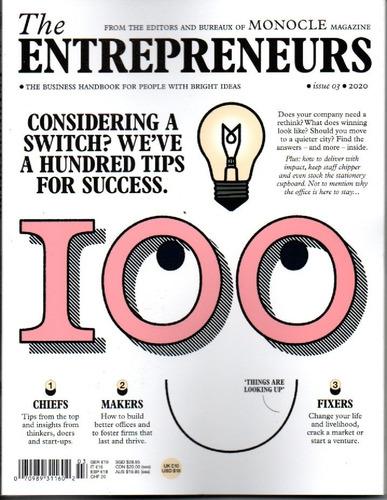Imagem 1 de 1 de Revista The Entrepreneurs By Monocle Uk