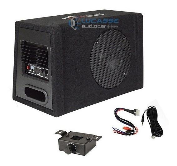 Caja Amplificada Audiopipe 10´´ Subwoofer Potencia 600w 300r