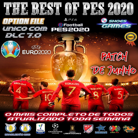 Patch Option File Pes2020/21 Ps4 - O Mais Completo De Todos!