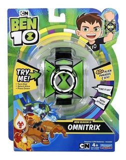 Reloj Ben 10 Omnitrix Frases Español Luz Y Sonidos Playmates