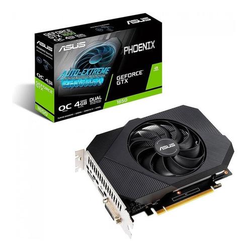 Placa de video Nvidia Asus  Phoenix GeForce GTX 16 Series GTX 1650 PH-GTX1650-O4GD6 OC Edition 4GB