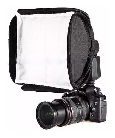 Softbox Diffuser Para Flash Speedlite 23x23cm