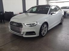 Audi S3 Sedan 4 Puertas 310cv 0km 2018 Blanco Negro Automati