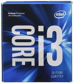 Kit I3 7100 + Placa Mãe + Memoria Ddr4 8gb 2400mhz