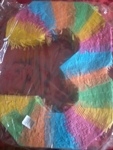 Imagen 1 de 2 de Piñata Numero 3 Con Pequeño Detale Averia,. Consulte Antes,