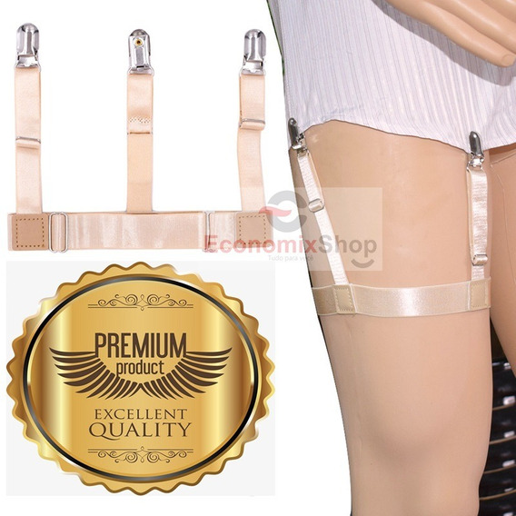 Supensorio Premium T Holder Segura Camisa Social Cor Nude