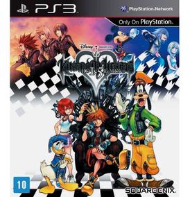 Jogo Kingdom Hearts 1.5 Remix Ps3 Mídia Física Transparente