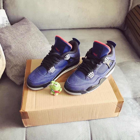 Air Jordan 4 Winterized Azul Leal