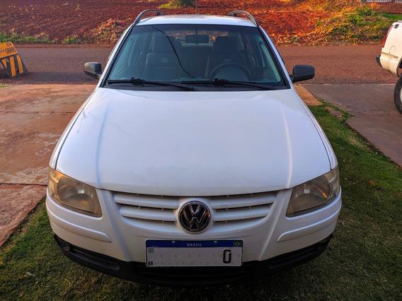 Volkswagen Parati 1.6 Bwx Branca 2008 5 Portas Completa -ar