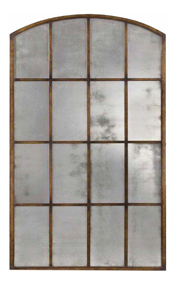 Espejo Espejos Vidrio Repartido Marco Hierro 1/2 Punto 1,8x1