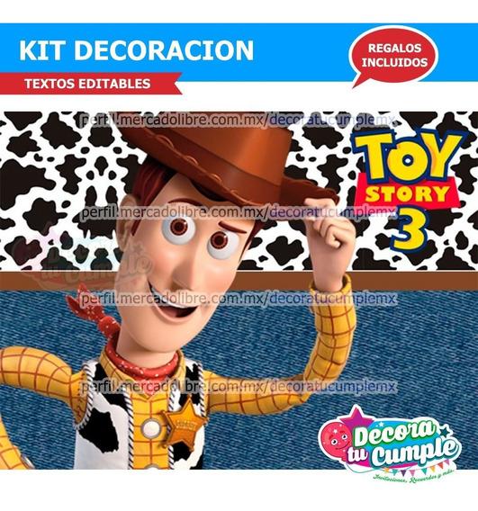 Kit Imprimible Woody Toy Story Jessie Buzz Decoración P131
