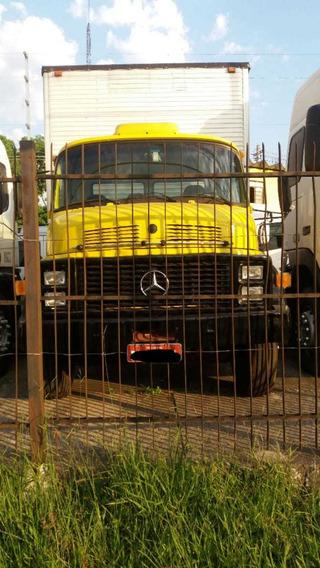 Mb 1113 6x2 1985 Com Baú 7,5. Com Reduzida, Motor Revisado