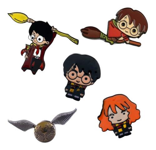 Imagen 1 de 10 de 1 Pin Harry Potter A Elección Snitch Hermione Escoba