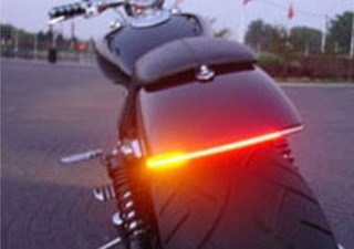 Lanterna Led Pisca Integrado Moto Chopper Custom Bobber