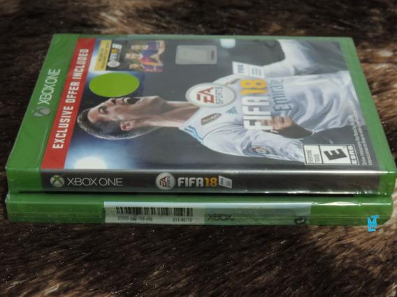 Jogo Fifa 18 Para Xbox One Novo Lacrado