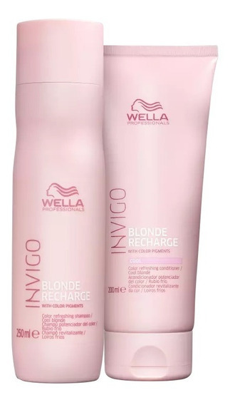 Wella Professionals Invigo Blonde Recharge Kit 2 Prodututos