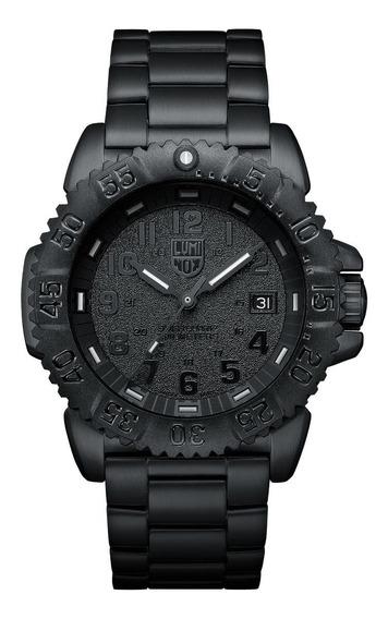 Relógio Luminox Xs.3152.bo.nv Navy Seal Blackout Dive