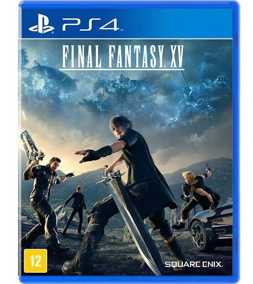 Final Fantasy Xv Ps4 Mídia Física Legendado
