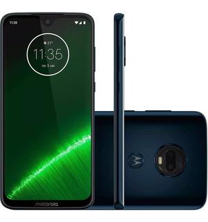Motorola Moto G7 Plus Indigo Lacrado Garantia Com Motorola