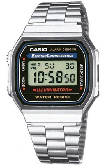Relógio Casio Original Unissex A168wa-1wdf Com Nota Fiscal