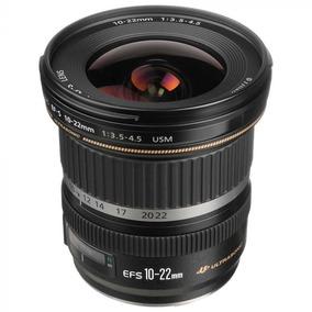 Lente Canon 10-22mm Nova Gde Angular +nf-e +gar. 1 Ano Canon