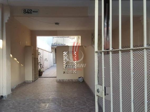 Casa Térrea Para Locação No Bairro Tatuapé, 1 Dorm, 1 Vaga, 45 M - 4324