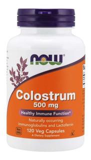 Colostrum 500 Mg Now 120 Veg Caps