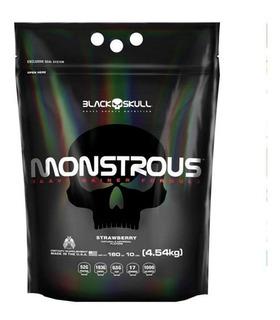 Hipercalórico Monstrous - 4,5kg 4540g - Black Skull