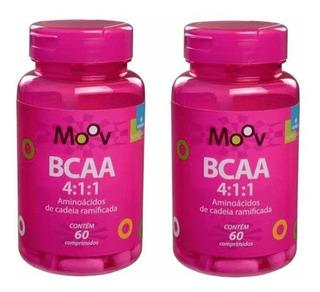 Kit 2 Bcaa 4:1:1 Total = 120 Comprimidos