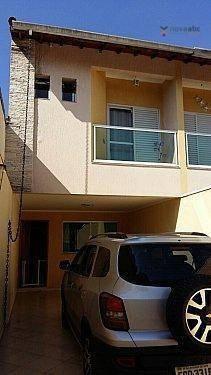 Sobrado Com 3 Dormitórios À Venda, 144 M² Por R$ 560.000 - Vila Camilópolis - Santo André/sp - So0208