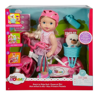 Little Mommy - Paseo En Bicicleta - Mattel Fcn11