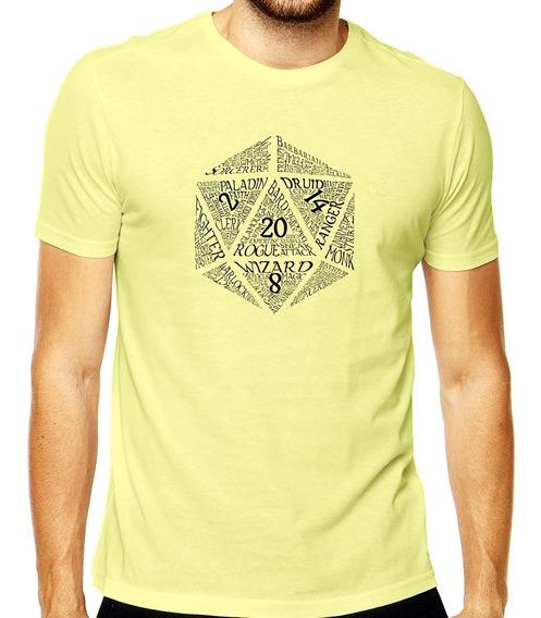 Camiseta D&d Classes De Rpg Dungeon And Dragons Mod 004