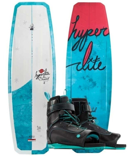 Tabla De Wakeboard Mujer Cable Hyperlite Scandal 138 Y Botas Mercado Libre