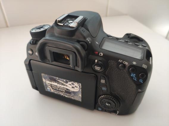Câmera Canon 70d 144 Cliques