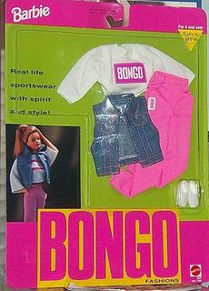 Barbie Original Bongo Fashions Bongo Logo Camisa Pantalones