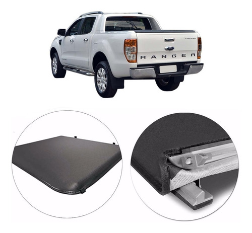 Lona Flash Cover Force P/ Ford Ranger Limited 2019 2018 2020