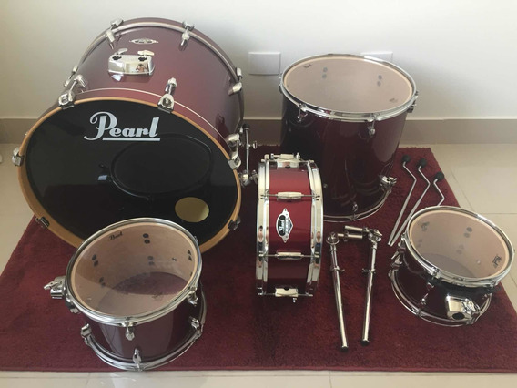 Bateria Pearl Export Exx Series Mahogany Red Wine Shell Pack