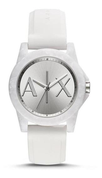 Reloj Armani Mujer Caucho Blanco Tienda Oficial Ax4339