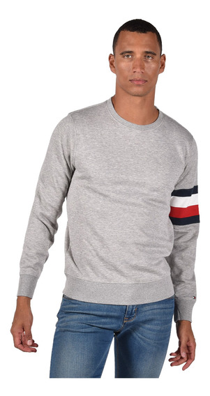 Chamarra - Tommy Hilfiger - Mw0mw03740-501 - Gris Hombre