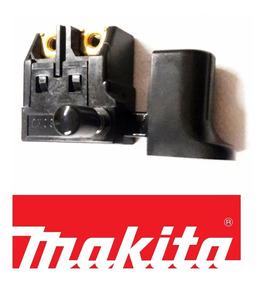 Gatilho Liga Chave P/serra Mármore Makita 4100nh - Original