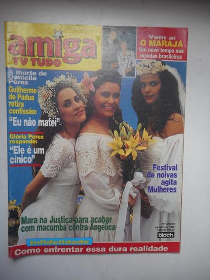 Revista Amiga Tv Tudo Nº 1212 - Jul/1993 - Mulheres De Areia