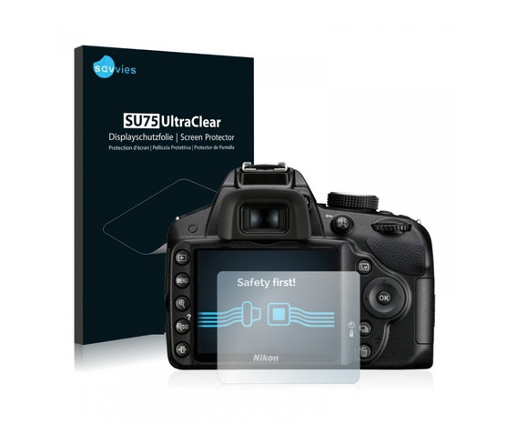 2 Pcs Pelicula Lcd Camera Nikon D3200 D3300 D3400