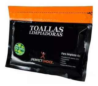 20 Toallas Limpiadoras Antiestática Perfect Choice Pc-030270