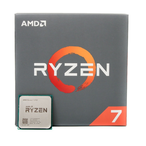 Micro Procesador Amd Ryzen 7 2700 4.1 Ghz Am4 8 Core Rgb