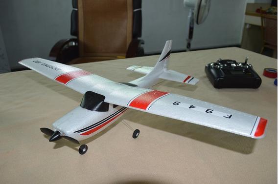 Avião Cessna 3 Motor Brushles, Fácil Pilotagem, Frete Grátis