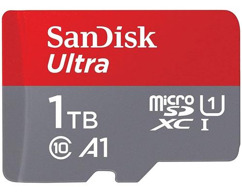 Imagen 1 de 2 de Tarjeta De Memoria Sandisk Ultra Microsdxc Uhs-i De 1tb