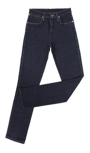 Calça Jeans Feminina Azul Escuro Cowboy Cut Original Wrangle