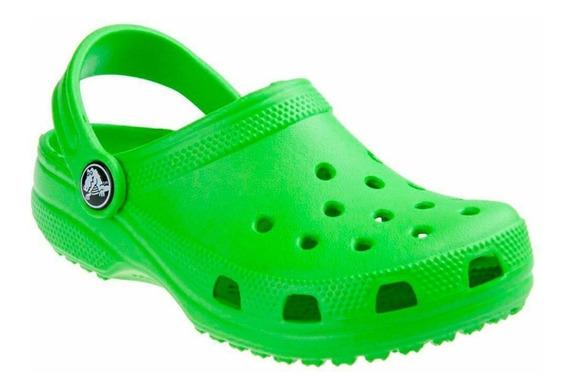 Crocs Classic Original Hombre Mujer Lime Lima